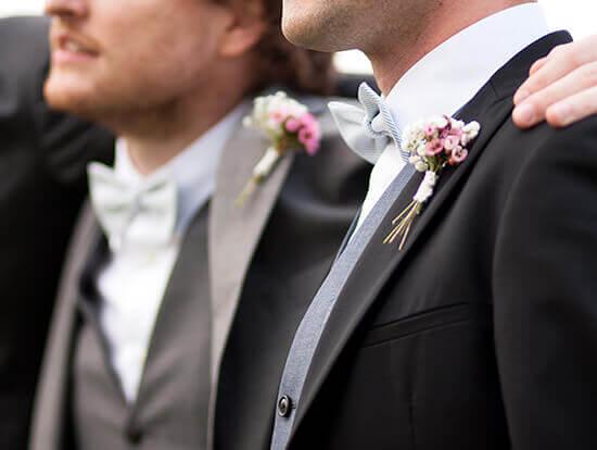 Abito per lo sposo