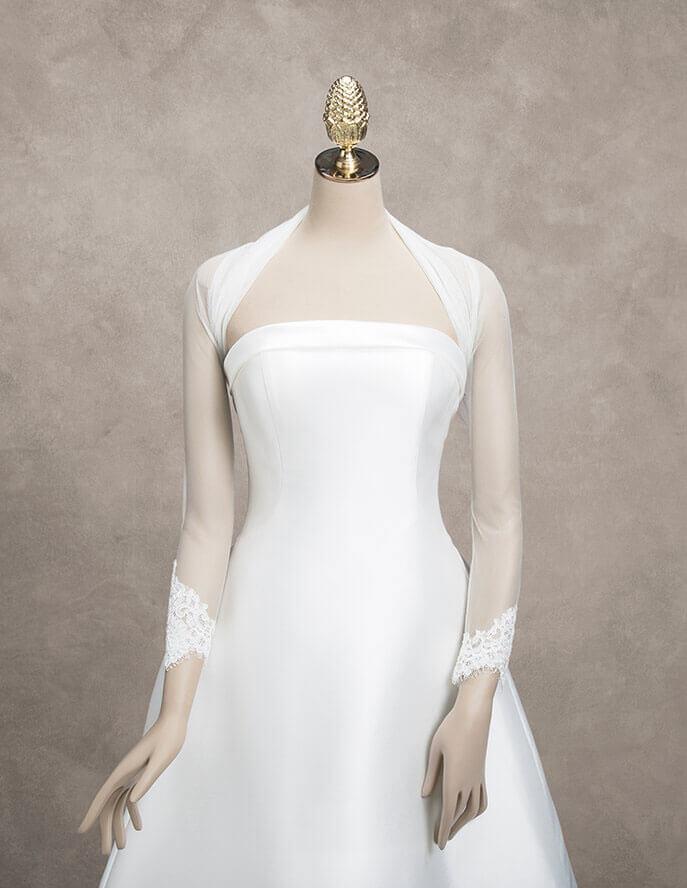 Copri spalla per abito da sposa